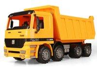 backhoe toys - New Style1 Backhoe Loader Bulldozer Model Car ABS Plastic Transport Vehicle Model Toy As Gift for Boy Children