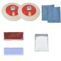 angle grinder kit - Angle Grinder Aluminium Metal Polishing Mop Wheel Polishing Pad Kits