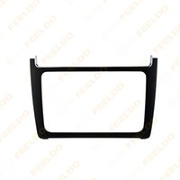 Wholesale Black DIN Car Refitting Radio Stereo DVD Frame Fascia Dash Panel Installation Kits For Volkswagen Polo Typ6C