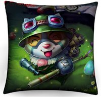 annie lol - LOL All Stars Ahri Gumiho Teemo Ashe Annie Morgana Ezreal League of Legends Hero Pillow cover Pillowcase x40cm Models