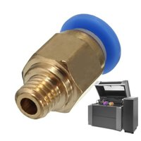 Wholesale Newest Hot Sale PC4 M6 Pneumatic Straight Fitting for mm OD Reprap D Printer Line Tube For Printing Accessory