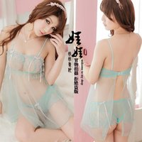 Wholesale Sexy lingerie Sexy Underwear Hot Sexy Nightwear Tow big chest Drag lingerie chest function Sexy009