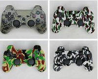 Wholesale Camouflage Wireless Bluetooth Sixaxis Gamepad Controller for PS3 PlayStation3 game controller