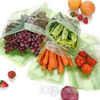 Wholesale Debbie Meyer Greenbags All Fruit Vegetables Stay Fresh Longer Bags Pack Reusable Green pack