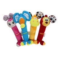 Wholesale 2015 Popular muti styles baby toys Nagate BB stick rattle baby toys months Animal rattle Toys for kids