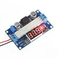 Wholesale 5 W Boost Voltage Regulator DC V to V A Adjustable Power Adapter Laptop Power Supply Voltage Meter