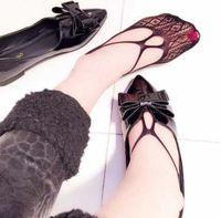 silk slippers women - SIS women girl lace sexy sock slippers beautiful cool crystal glass silk cross anti hook silk slip shallow boat socks