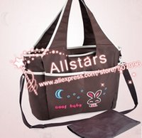 designer baby bag - New Designer Baby Diaper Bag Cartoon Embroidery Mommy Bags Antimicrobial Nappy Bags D