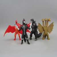 Wholesale 2014 x Godzilla Action Figure PVC Cute Godzilla Cartoon Collection Toys High Quality Best Gifts