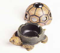 Wholesale New Style Tortoise Shape Cigar Ashtray Patable Ashtray Fashion Resin Ashtray for Cars Crafts for Decoration