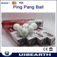 Wholesale Free ship Table tennis ball pingpong ball white color pingpang balls