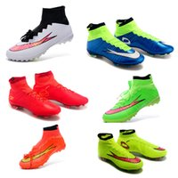new model shoes - free ship Children s Mercurial Superfly FG Soccer Shoes Football Women Shoes New model Mercurial shoes Boys and girls football shoes