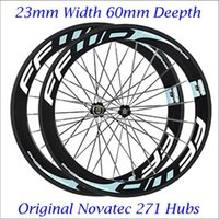 Wholesale High Quality Full Carbon Fiber FFWD F6R mm Carbon Wheels C Road Bicycle Carbon Wheelset Racing Cycling Kits
