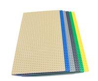 Wholesale Wange Small particles Blocks Baseplates dot bricks baseplate of size cm Base plates for minifigure