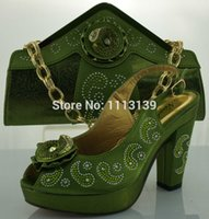 Cheap shoe bag wholesale Best Italian Shoes and Bags green