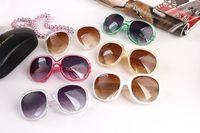 fashion plastic sunglasses - Big Frame Fashion Women Sunglass Vintage Cheap Plastic Brand Designer Oversize Sunglasses