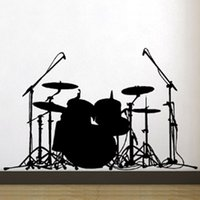bass drum sizes - Home Decor Wall Sticker Wall stickers Home decor SIze mm mm PVC Vinyl paster Removable Art Mural Music Bass drums J