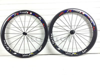Wholesale Original mm width New Road Bike mm bicycle carbon Wheels glossy full Carbono fiber Wheelset