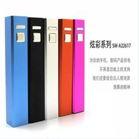 Wholesale Mobile Phone Power Bank Charger mAh Universal Portable External Cylinder Backup Battery USB Charger Pack for iPhone Samsung S4 S5 MP3