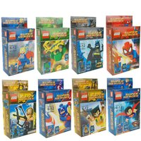Wholesale Avengers series blocks villain toy Superheroes Assembling building blocks Children villain Aberdeen Educational Toys