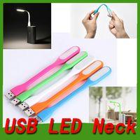 Wholesale Ultra Bright W LED USB Lamp Light Portable Flexible Led Lamp for Notebook Laptop Tablet PC USB Power foldable