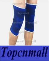 Wholesale Hot Knee Protector Basketball Pads Support Kneecap Neoprene Stretch Brace Elasticated Wrap Sport Safety Protectors L20cm W13cm