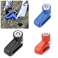 bicycle wheel lock - Anti Theft Safety Security Motorcycle Bicycle Lock Steel Mountain Road MTB Bike Cycling Rotor Disc Brake Wheel Lock Y0028