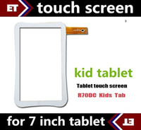 tablet replacement screen - DHL original Capacitive touch screen of Beneve R70DC R70AC replacement for inch Kid Educational Tablet PC white