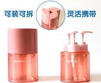 Wholesale NEW ARRIVAL IN TRAVEL REFILLABLE BOTTLES THREE IN ONE MAGNETIC REFILLABLE BOTTLES