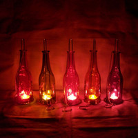 Christmas beer bottle candles - Beer bottle romantic mousse fashion home decoration lovers gift accoutering Matching Block Candle Chandelier