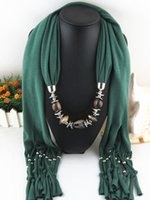 Wholesale 2015 new Pendant scarf female jewelry ring scarf autumn and winter fashion christmas gift for women