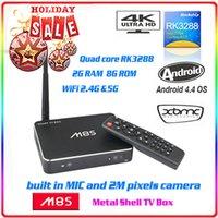 Cheap M8S Android TV Box RK3288 Quad Core 2G 8G Smart Google Media Player XBMC 4K 2.0MP Camera Bluetooth 4.0 HDMI Smart TV Box