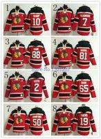 authentic hoody - Factory Outlet Youth Ice hoody Hockey Jersey Authentic Jonathan Toews Boy Girl Jersey Chicago Blackhawks Jerseys Ice Hockey Sweatshirt