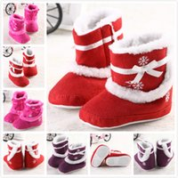 Wholesale shopping festival famous brand baby girl shoes baby shoes baby boots infant warm winter boots kids children baby girls winter boots footwear