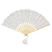 lace hand fan - 2015 New wedding Bridal lace Fan Cosplay Fabric diameter quot cm and quot cm High Quality Multi Colors
