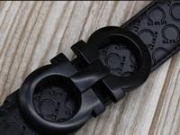 Wholesale Luxury Belts Brands - Luxury new fashion men belts High quality brand designer genuine leather belt men women