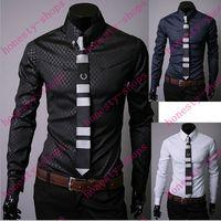 Wholesale New Arrival Men casual Shirts Slim fit stylish Mens Long Sleeve dress shirt Men s Spring Autumn shirt