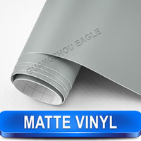 aluminum window parts - Silver Matte Film Adhesive Vinyl Rolls Renew Used Car Vinyl Car Part Size Meter x Meter