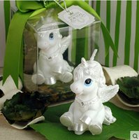 Wholesale hildren s party supplies creative birthday candles The little horse candles The white horse The horse zodiac candles Send a friend