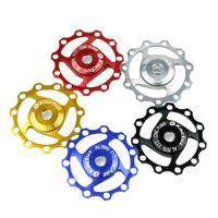 Wholesale 2015 Kactus A04 MTB Aluminium Alloy Material T Jockey Wheel Rear Derailleur Pulley for SHIMANO SRAM Speed