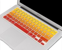 Wholesale 15 Colors Style Keyboard Cover for Macbook Air Pro and Pro Retian inch iMac Keyboard Protector Silicone Skin Sticker