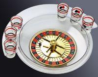 Wholesale Transparent russia swivel plate cup russian roulette ktv