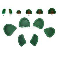 base lab - Dental Silicone Base Molds Green Plaster Model Pieces Pack For Dental Lab