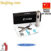 achat en gros de zmax mini-vv vw-100% Original Sigelei Zmax V5 Mini Set mécanique Mod Fit for 18350 18500 18650 E Cigarette VV Mod 3-15W VW Mod Top qualité 002632
