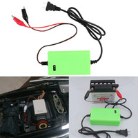 Wholesale Universal V A Intelligent auto Car Battery Charger Voltage Rechargeable Battery Power Charger V Automatic Power supply