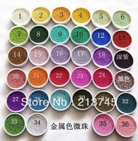 Wholesale NEW g micro Rainbow fairy dust tiny glass globe fillers glass clear balls for glass vials fillers mm