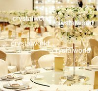 amazing wedding centerpieces - Amazing beautiful and cheap sliver wedding table mental vase props centerpieces flower stand centerpiececs center piececs