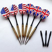 Wholesale 2015 Hot sale High quality Electroplate Copper Steel Needle Tip Dart Darts Pattern Choose