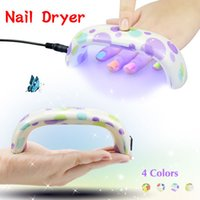 Wholesale 1Set Fashion Portable Style Nail Dryer UV LED Lamp For Curing Nail Gel polish Dryer Professional Ultraviolet Nail Art Tools