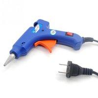Wholesale Handy Professional High Temp Heater W Electric Heating Hot Melt Glue Gun Sticks Trigger Art Graft Repair Heat Pneumatic Tool